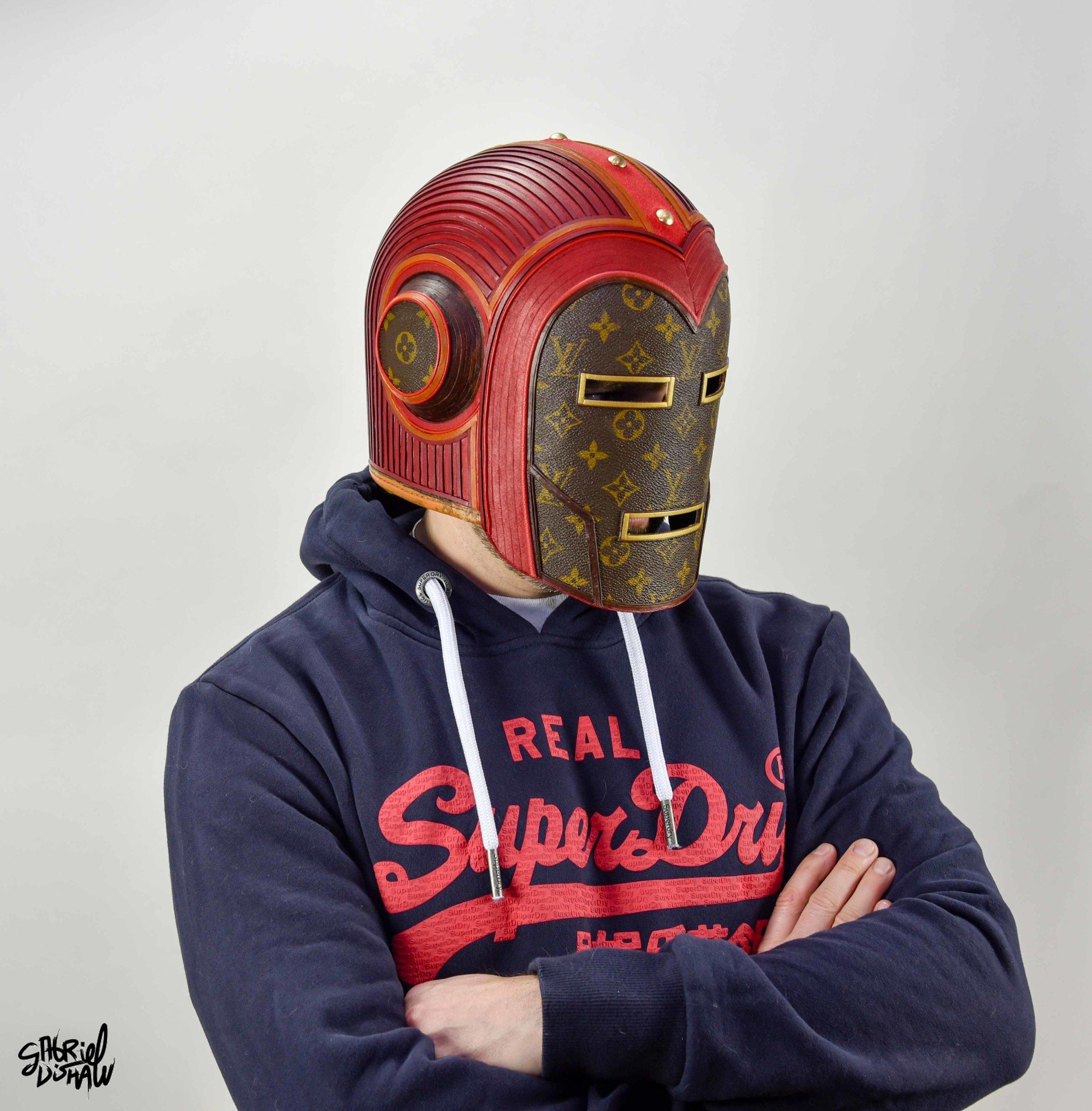 Gabriel Dishaw wearing Vintage Iron Man LV-0326.jpg