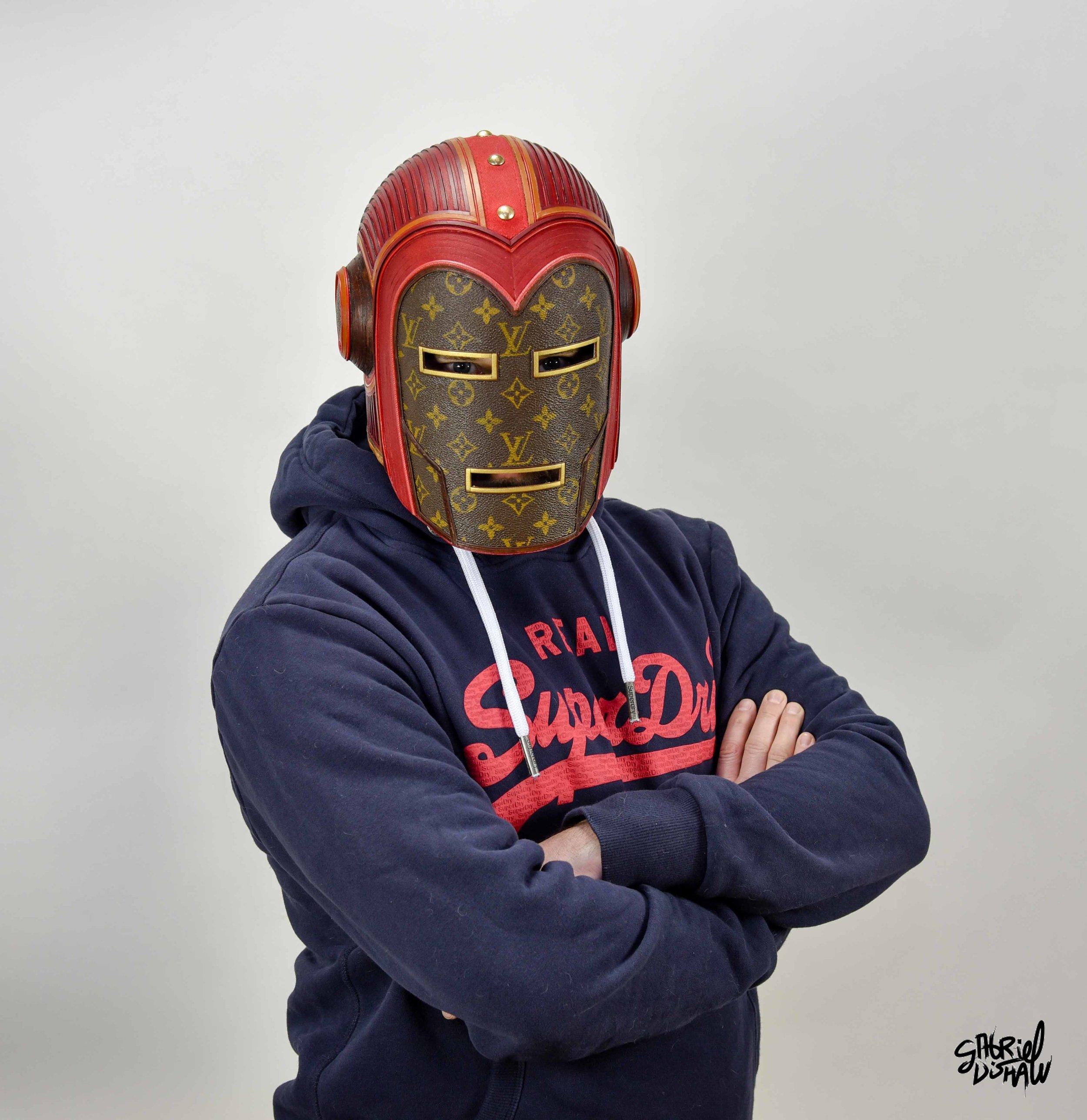 Gabriel Dishaw wearing Vintage Iron Man LV-0348.jpg