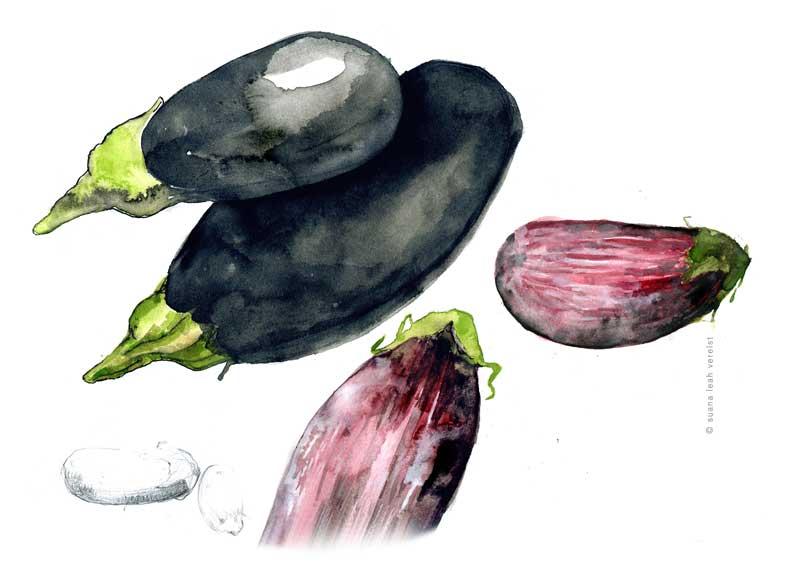aubergines