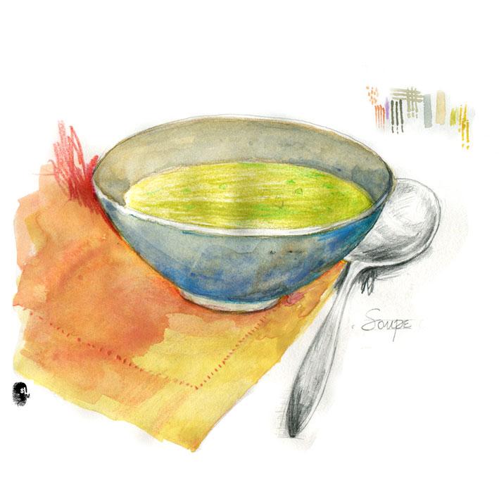 aspergus soup