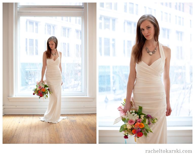 Rachel Tokarski Photography Spontaneous Floral and Wedding Gown Shoot