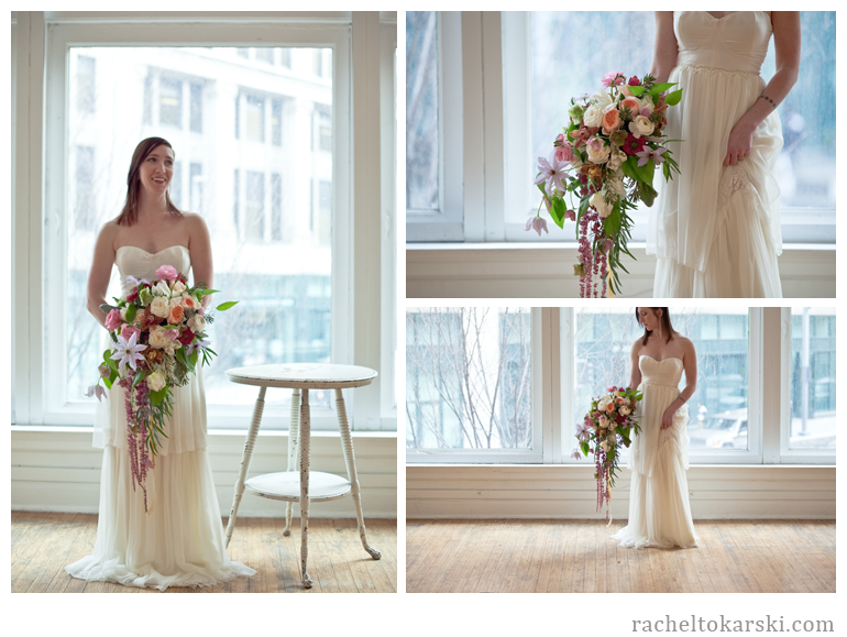 Rachel Tokarski Photography Gown and Floral Shoot