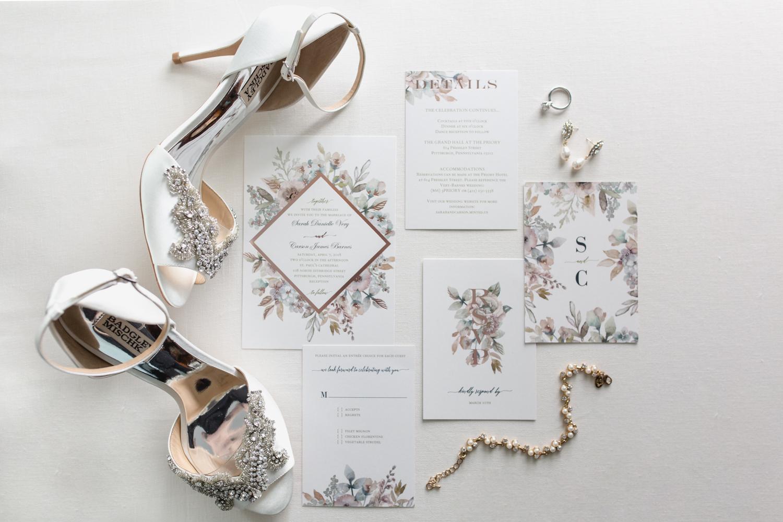 Pittsburgh Wedding Invitation