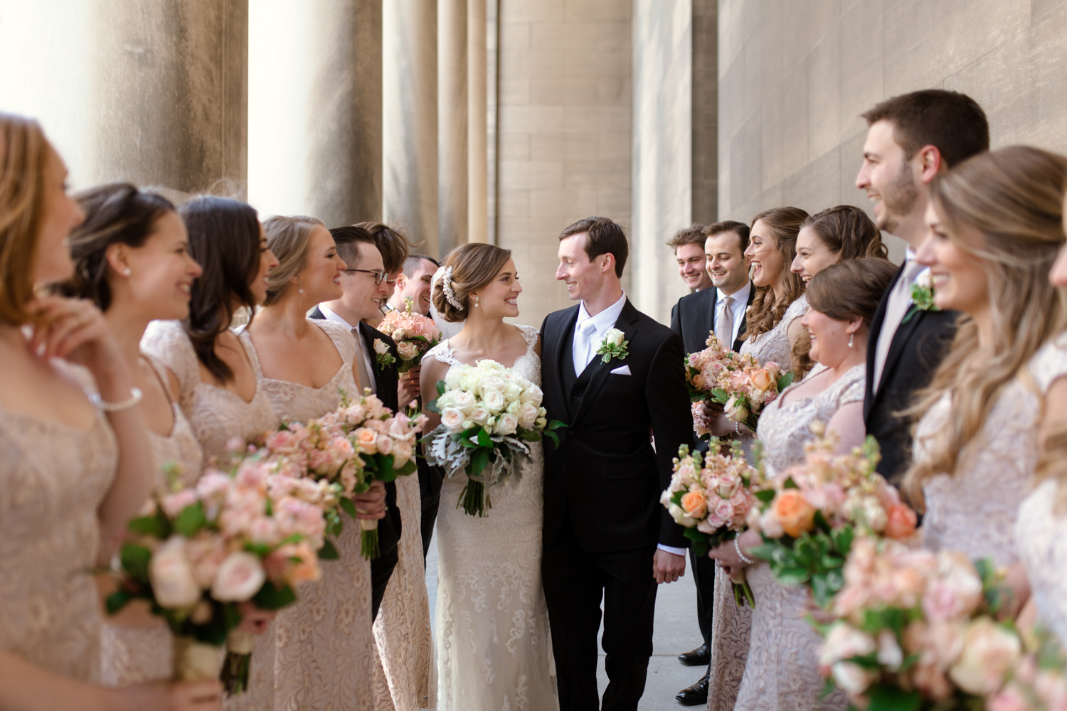 Pittsburgh Wedding Party Photo