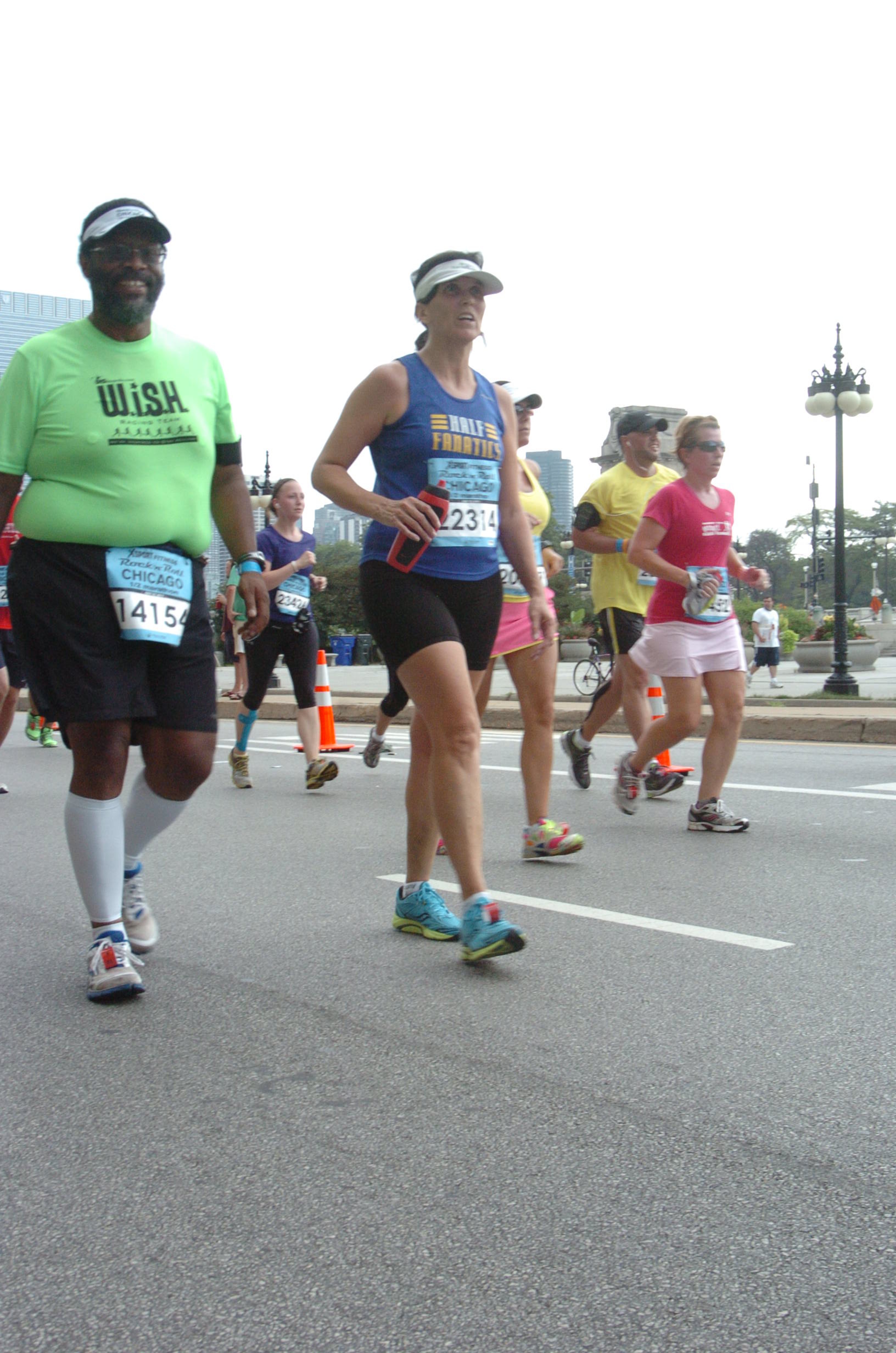 Laura was one of many Half Fanatics I spent time with during the race.