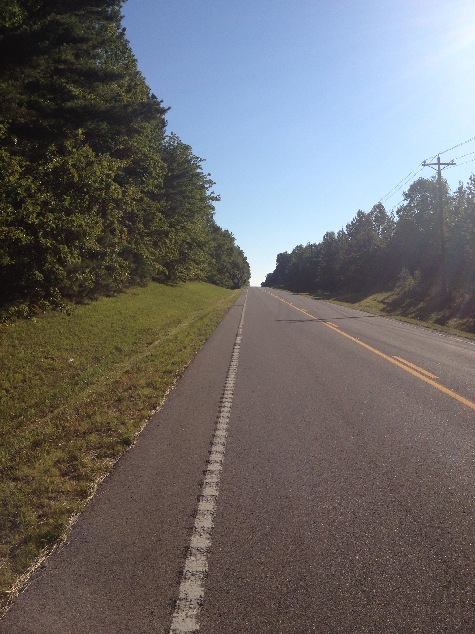 Nice long rolling hills!