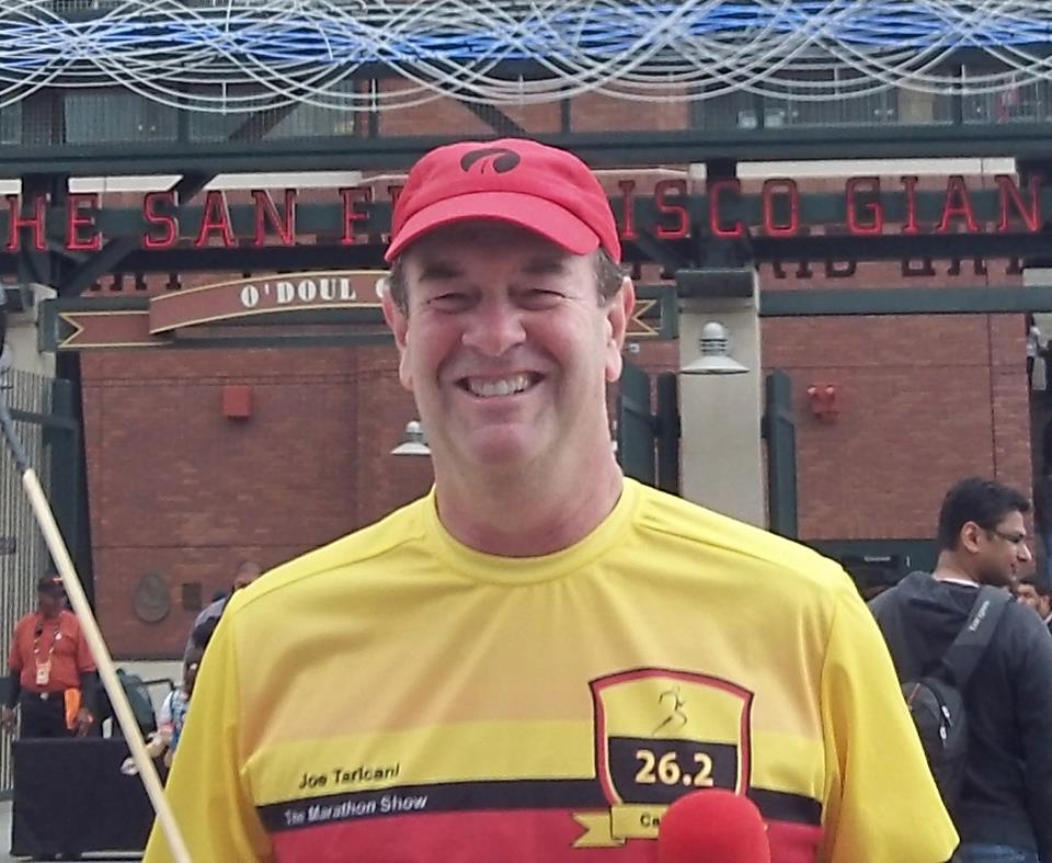 Joe Taricani, host of the Marathon Show Podcast