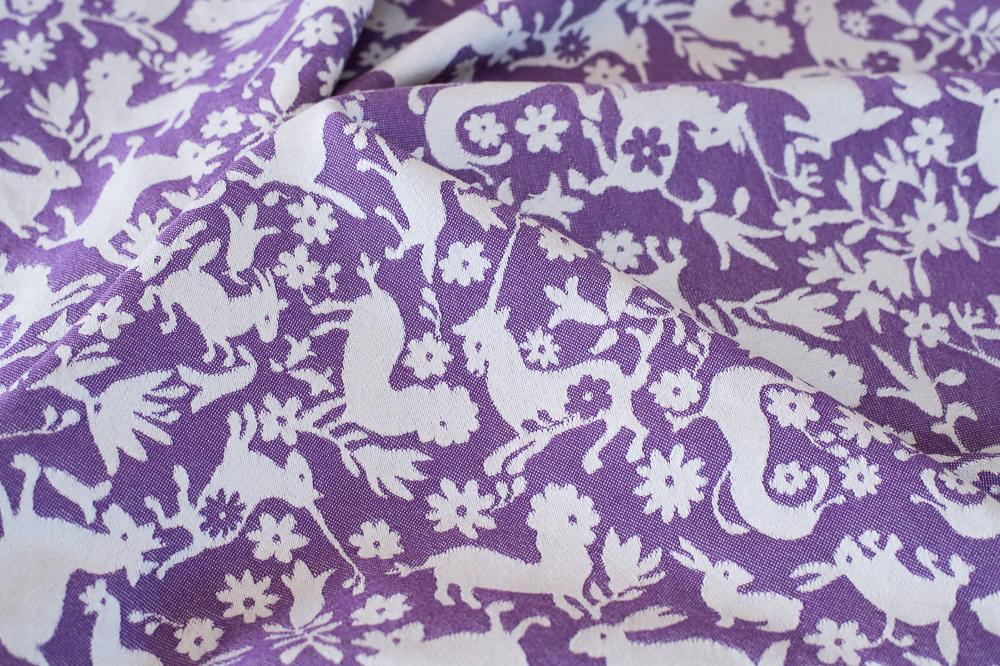 Unicornio weave-down sample