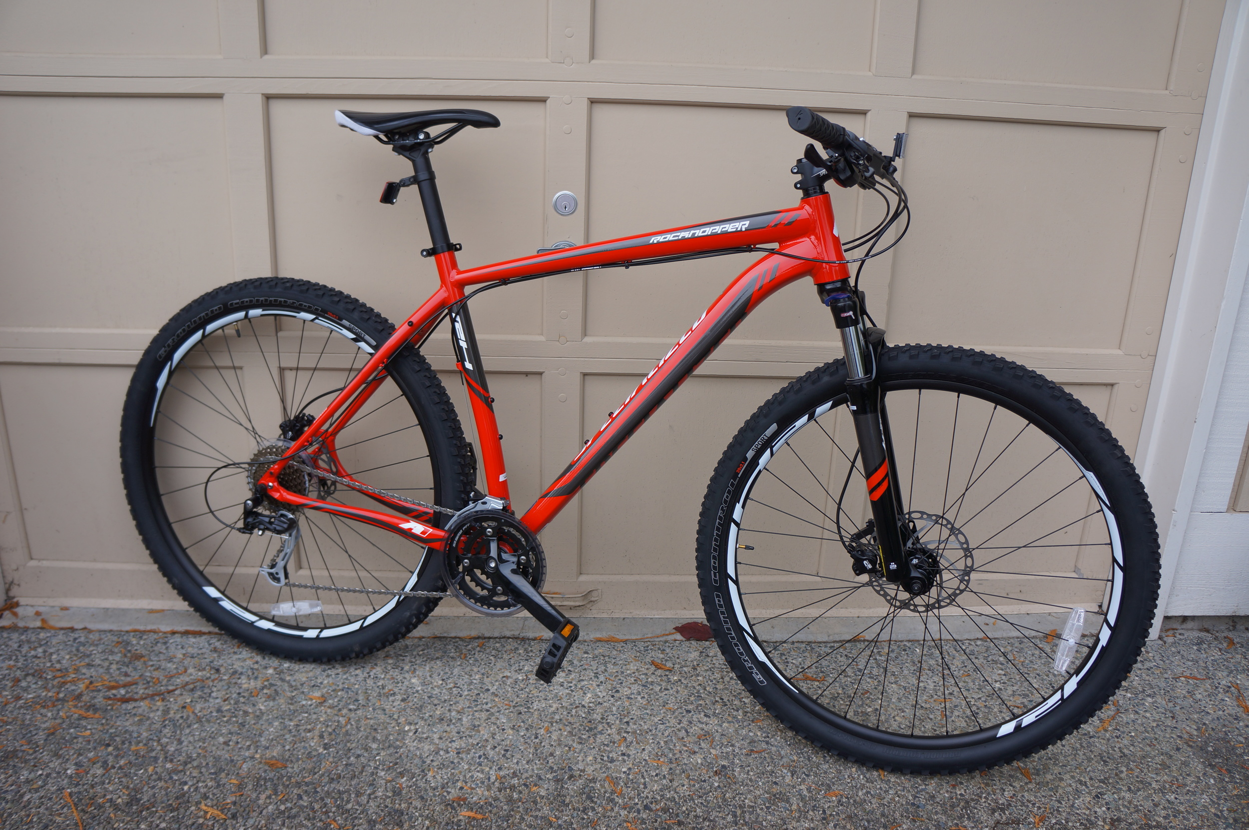 2014 Specialized RockHopper 29, my newest ride.