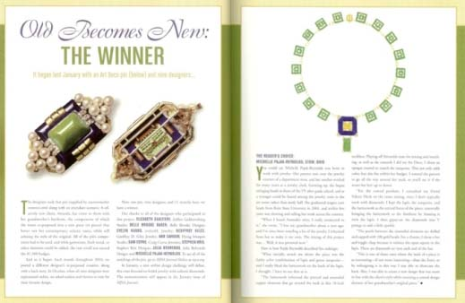 "MJSA Journal ""Old Becomes New Design Challenge"" Winner"