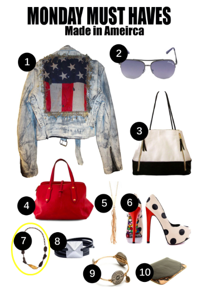 Nolcha Monday Must Haves-Made in America