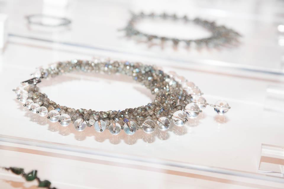 Michelle Pajak-Reynolds jewelry at Nolcha New York Fashion Week