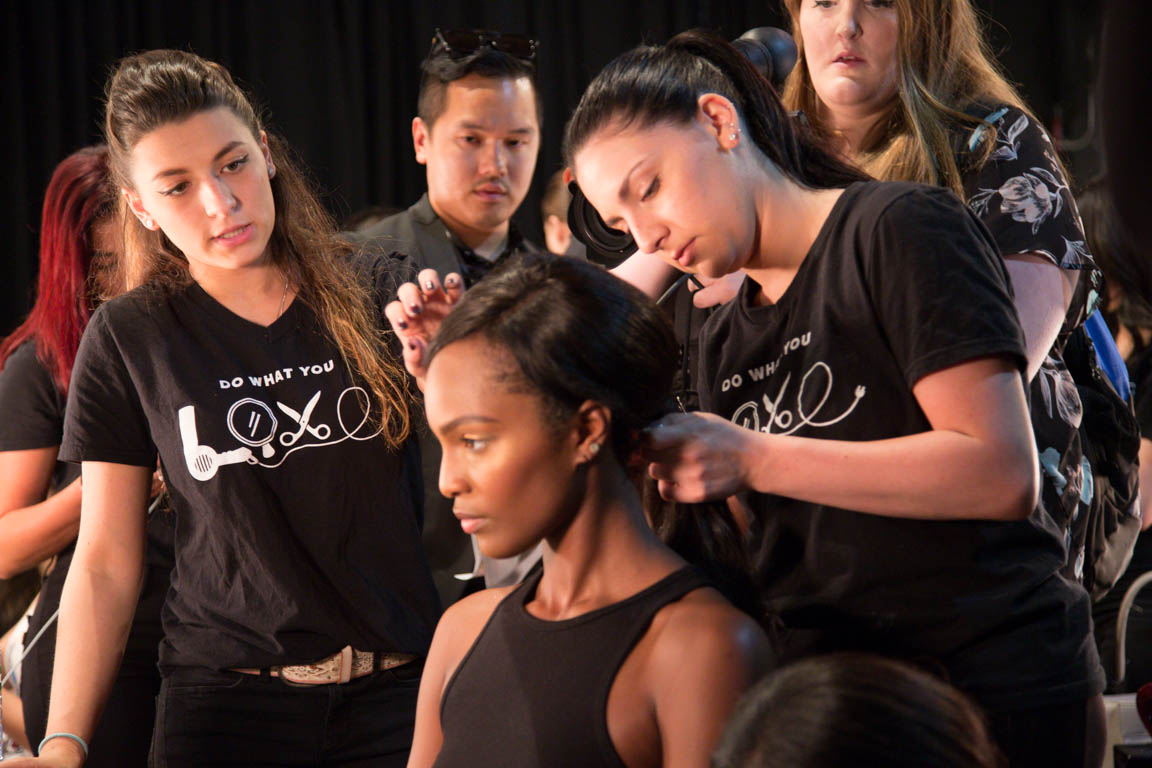 Backstage at Nolcha Shows