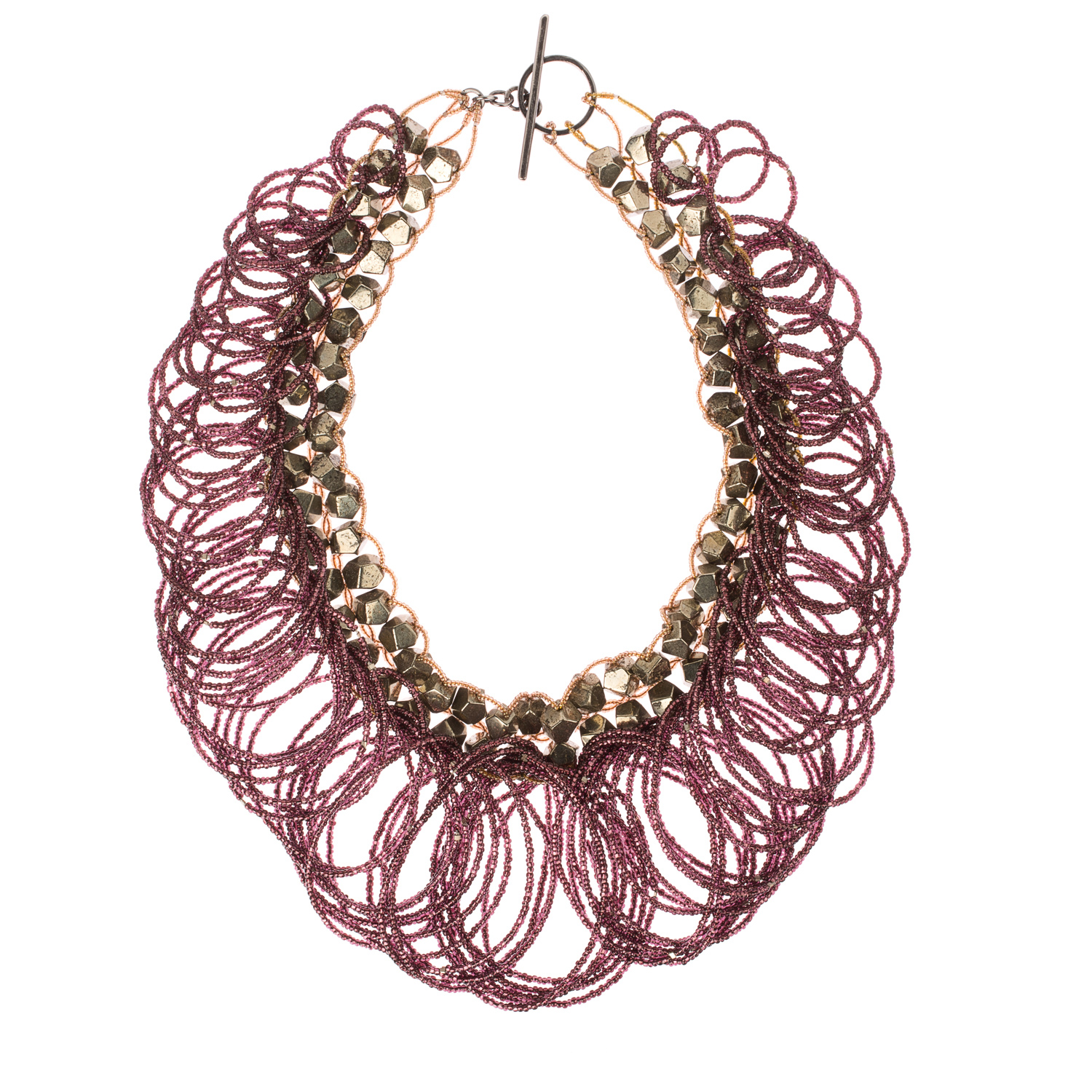 Opulence Collection: Gilded necklace