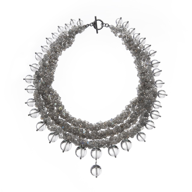 Michelle Pajak-Reynolds Undina Collection Luna necklace