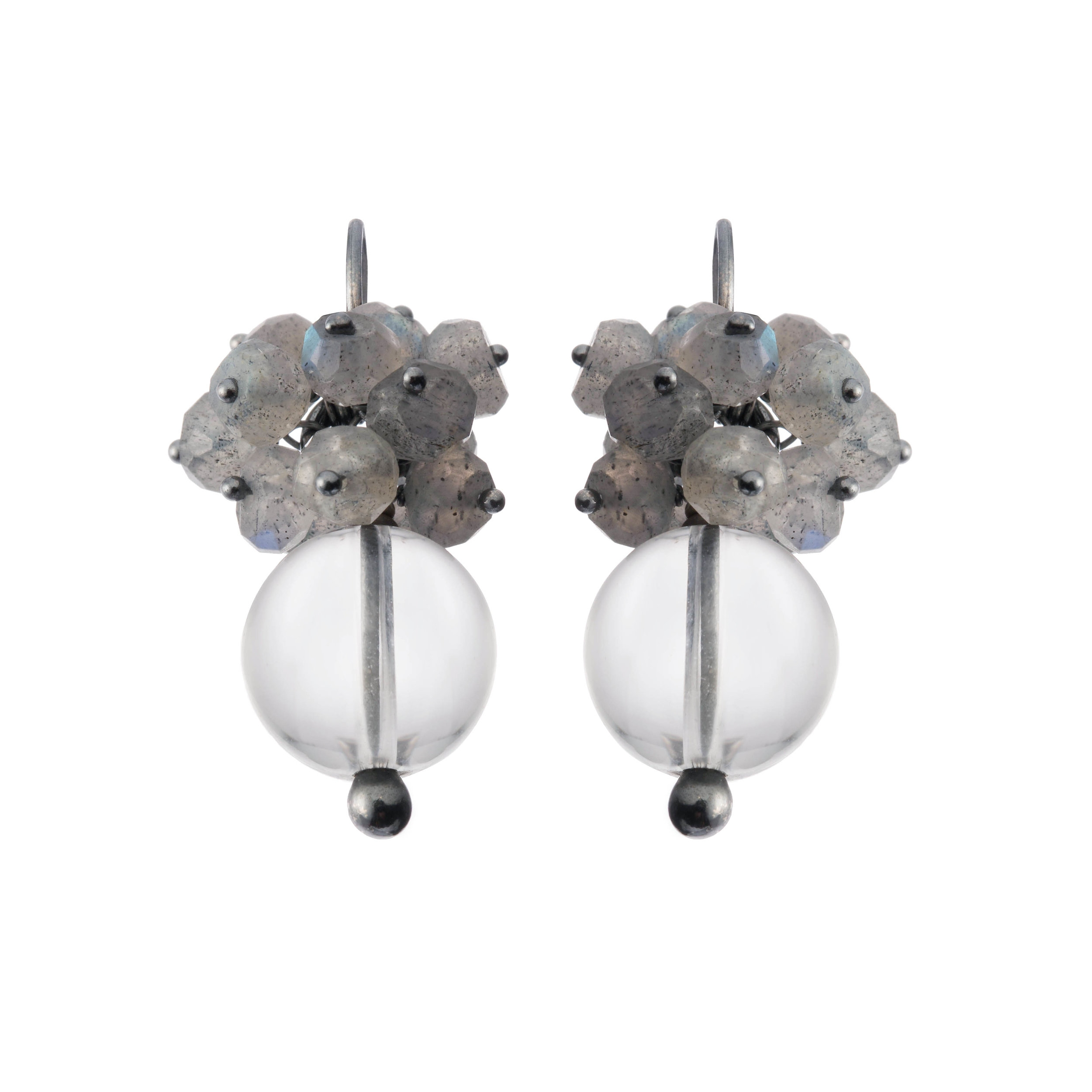 Undina Collection: Luna drop earrings