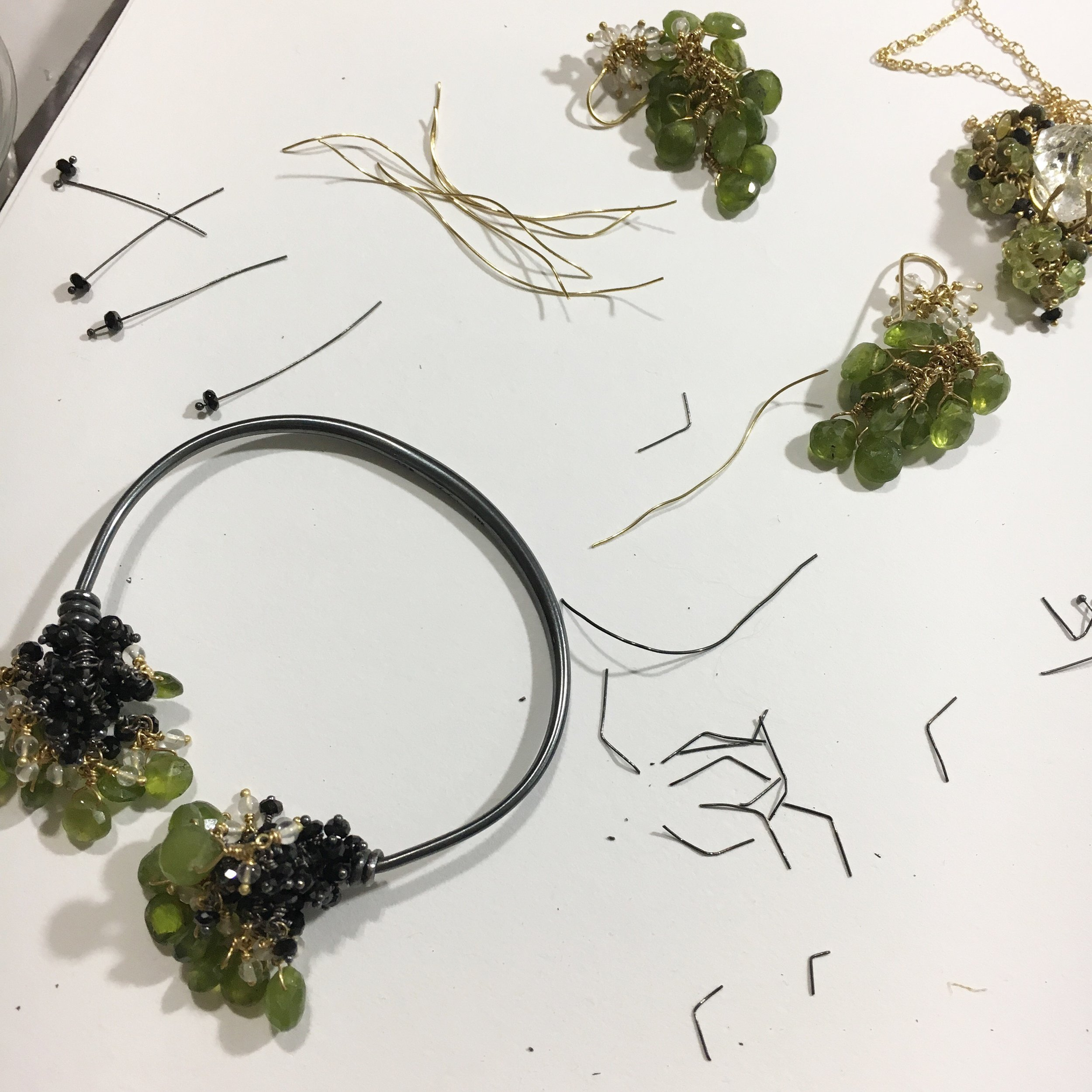 Voyageuse: Jewels Inspired by Moss