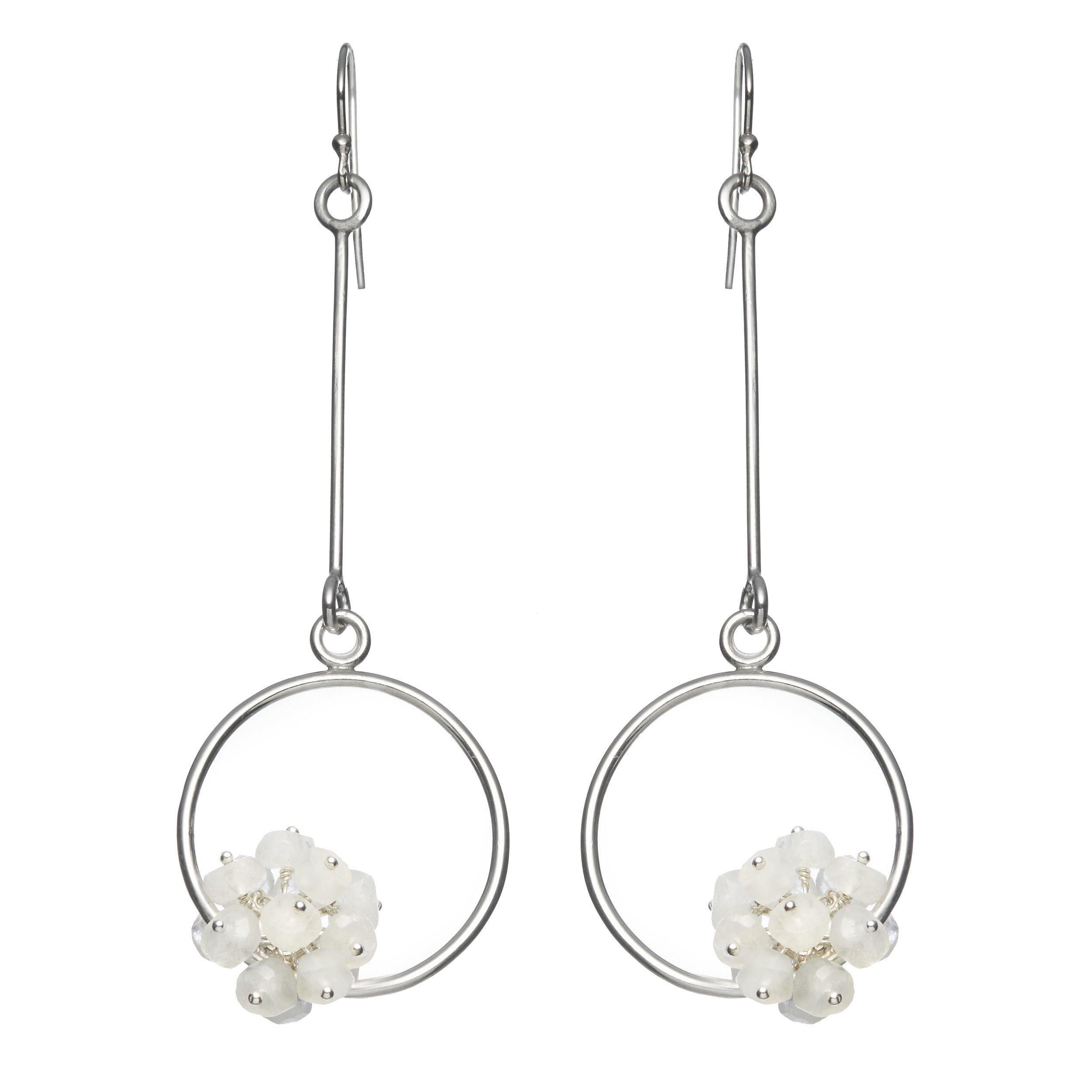 Adva large drop earrings