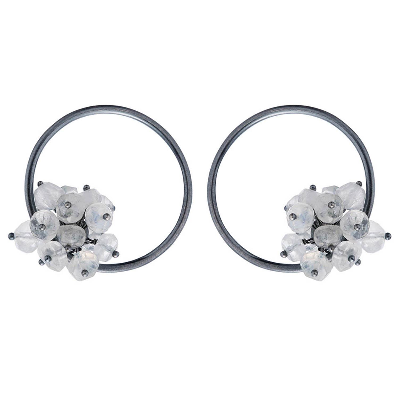 Adva large hoop earrings