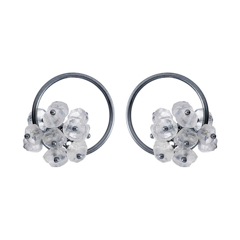 Adva small hoop earrings