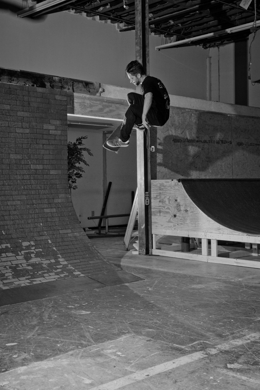 Jed - Frontside ollie