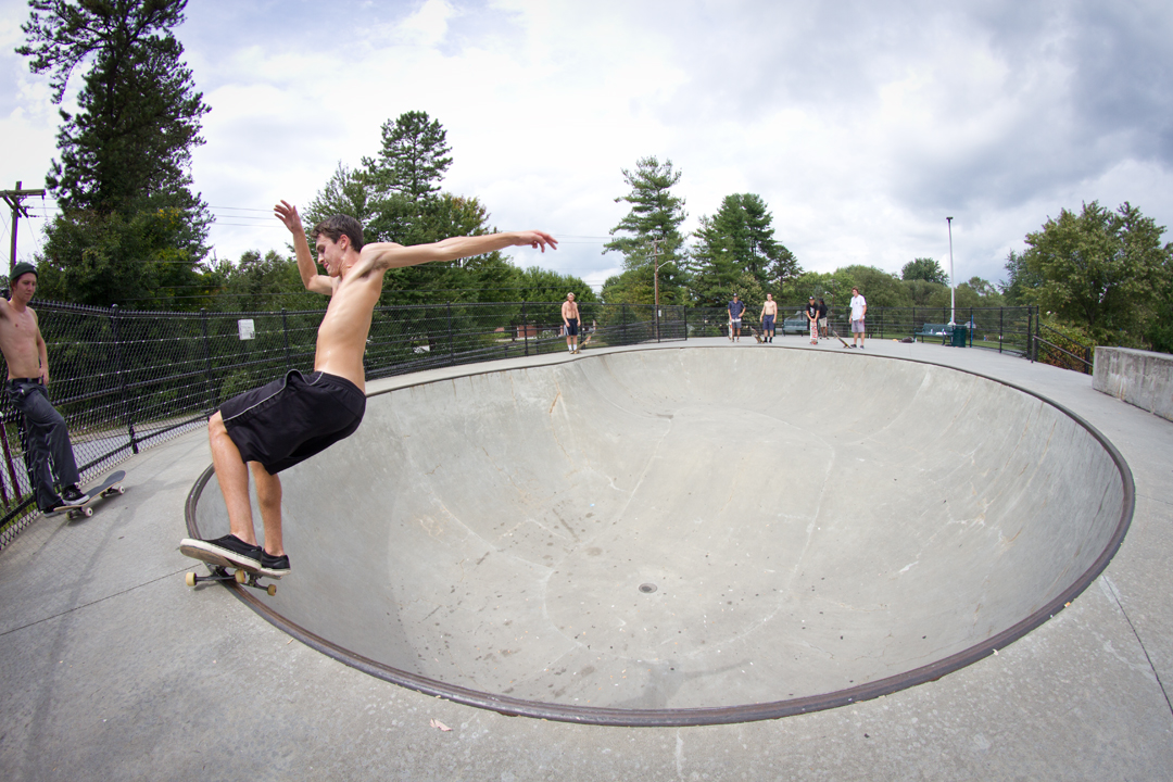 Will Smith - Smith grind in Hendersonville, NC.