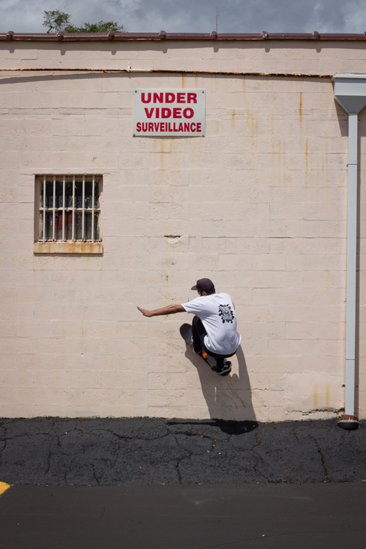 Tim Jarman - Frontside Wallride