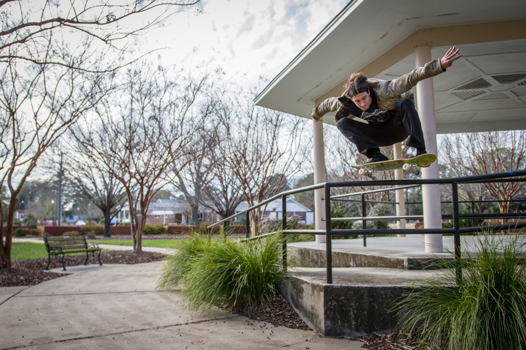 More street missions with Colin - bump to bar ollie for  SkateBoner Magazine .