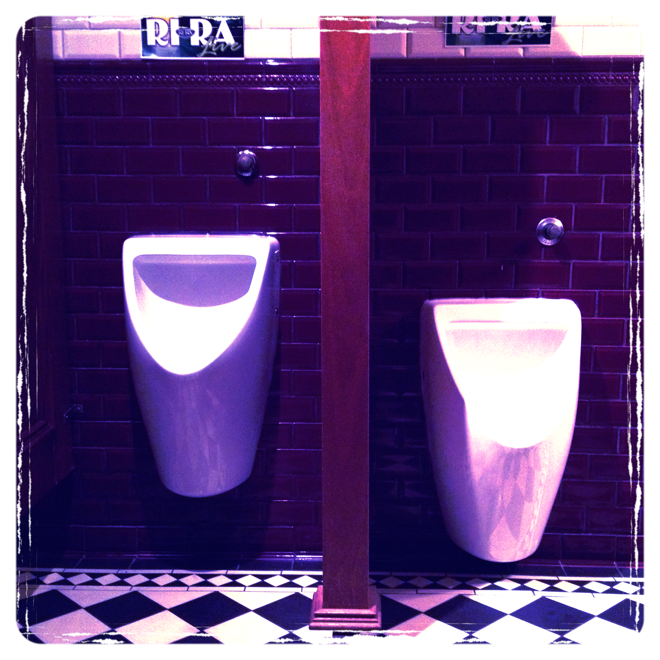 From my urinal project.