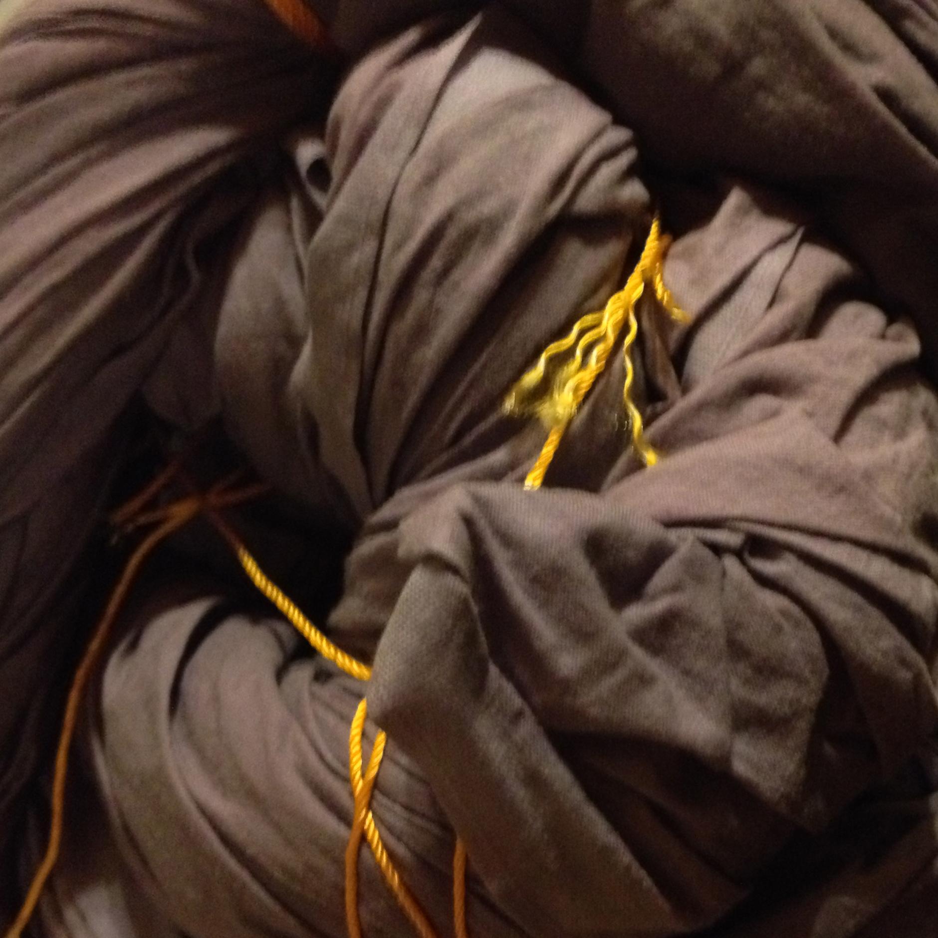 Bundled tie-dye