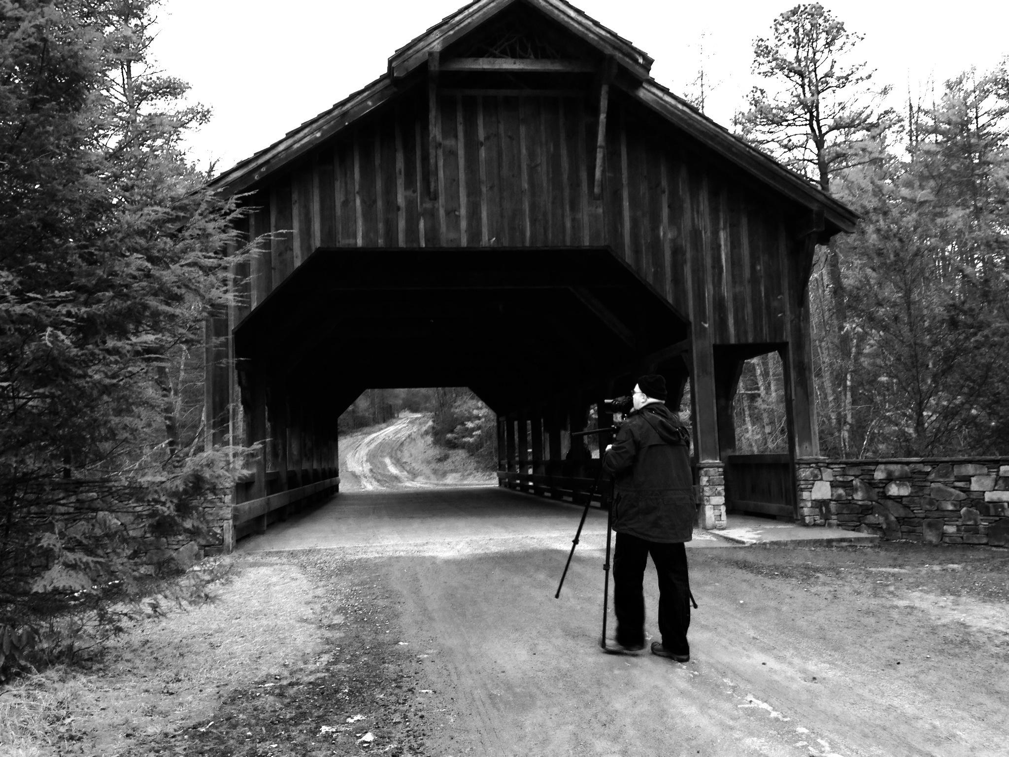 Taking a picture. Photographer: Rebecca Puett