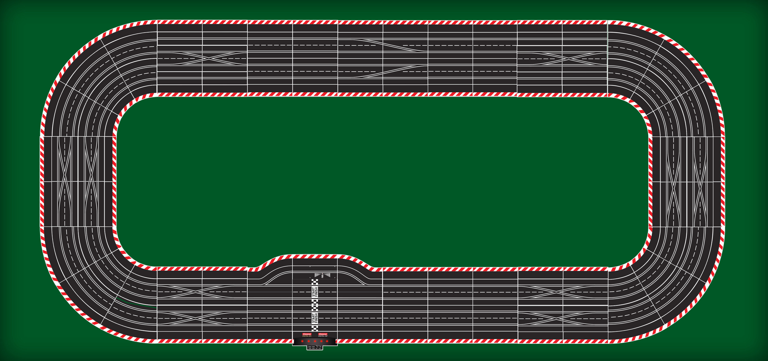 Indy Style Oval