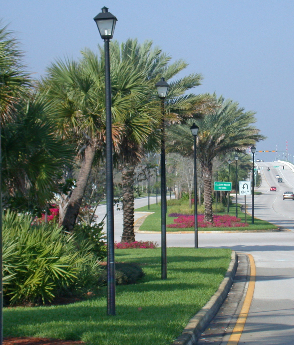 donald ross road palm beach county florida landscape median.jpg