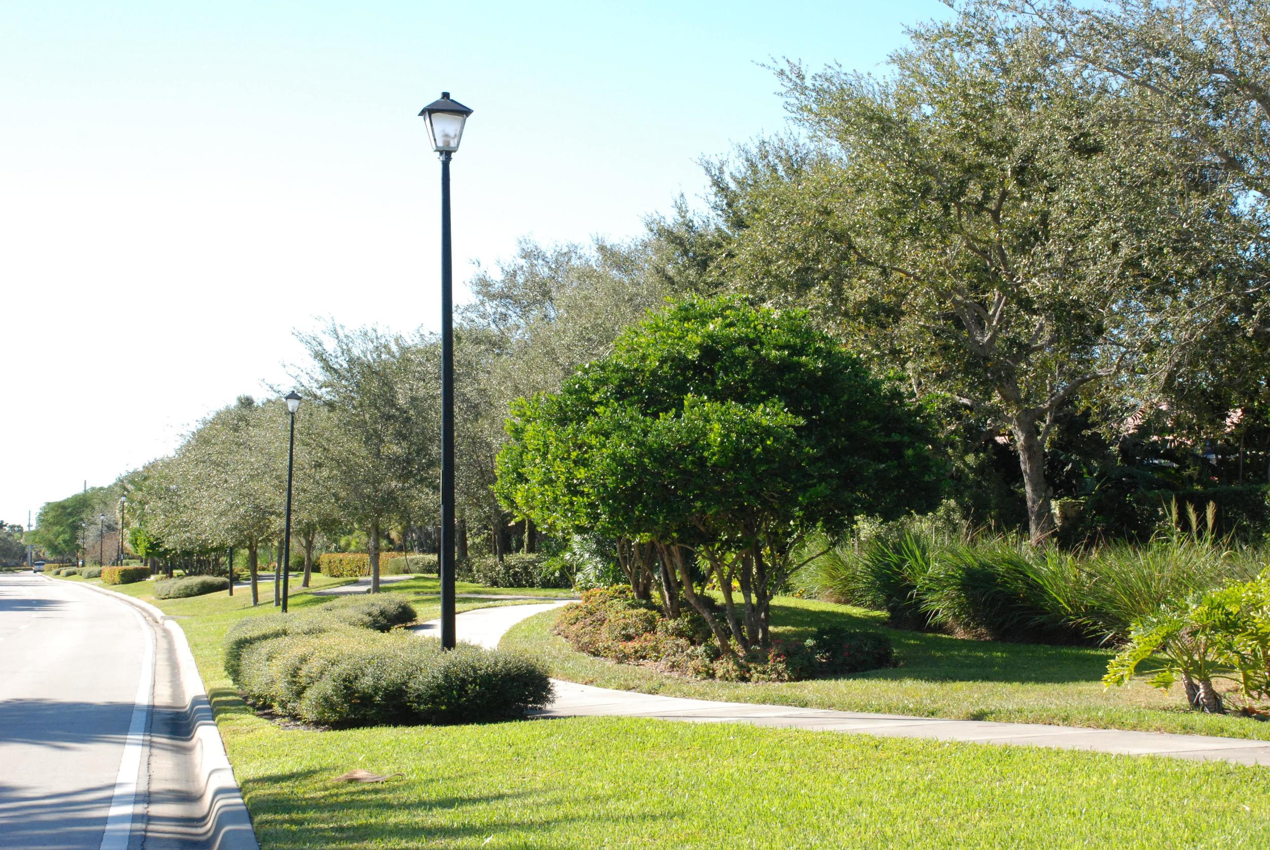 Burns Road Palm Beach Gardens Florida Pedestrian Path.JPG