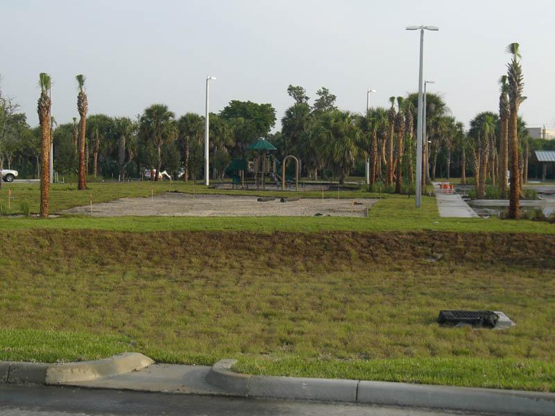 Burt Reynolds Park Palm Beach County Florida Playground Volleyball Courts Bio retention.JPG