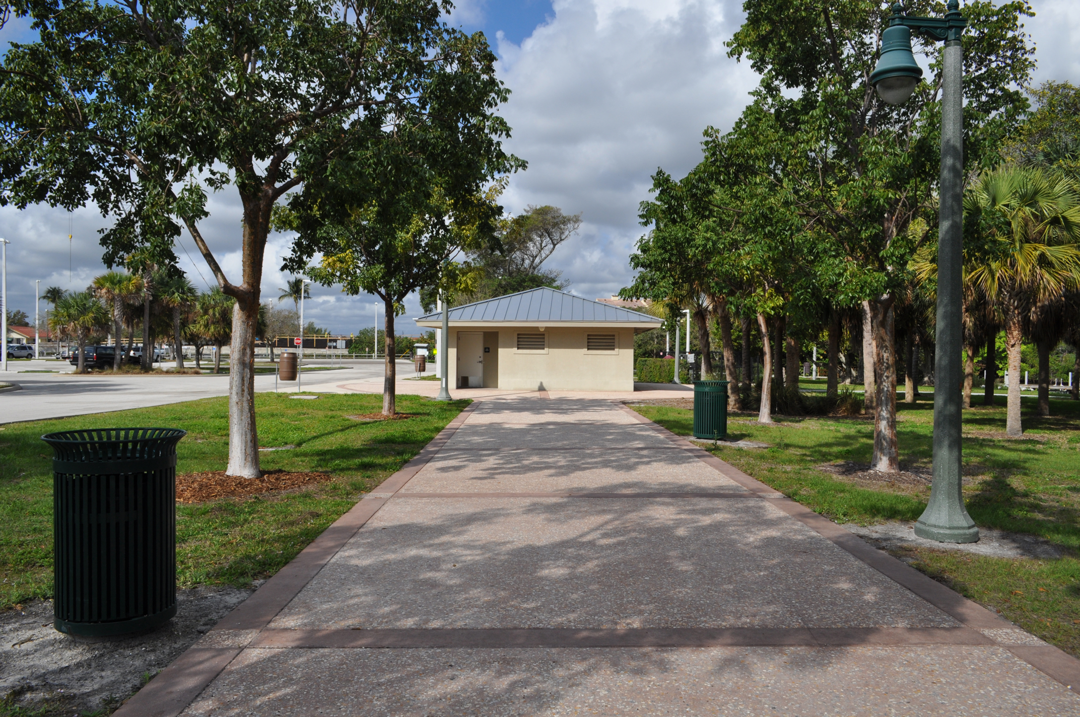Burt Reynolds Park Palm Beach County Florida Riverwalk Tabby Concrete.JPG