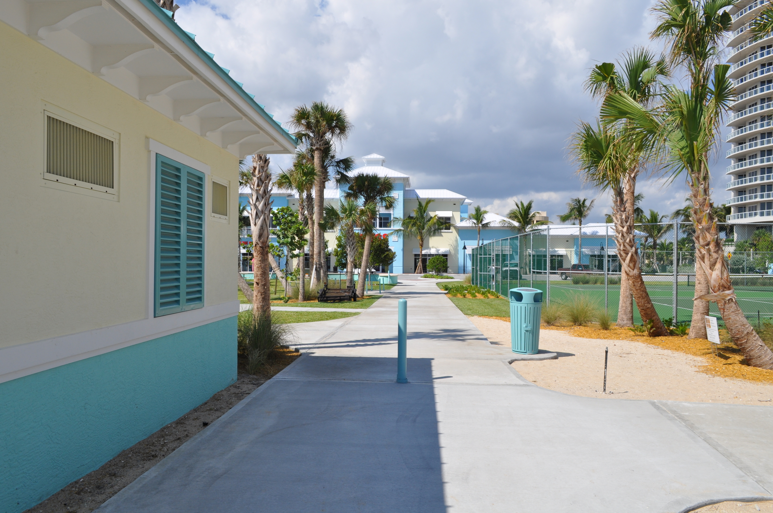City of Riviera Beach Municipal Beach Park Ocean Mall Walk and Tennis Courts.jpg