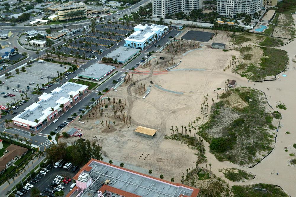 City of Riviera Beach Municipal Beach Park Ocean Mall Construction Activities Landscape Installation.JPG