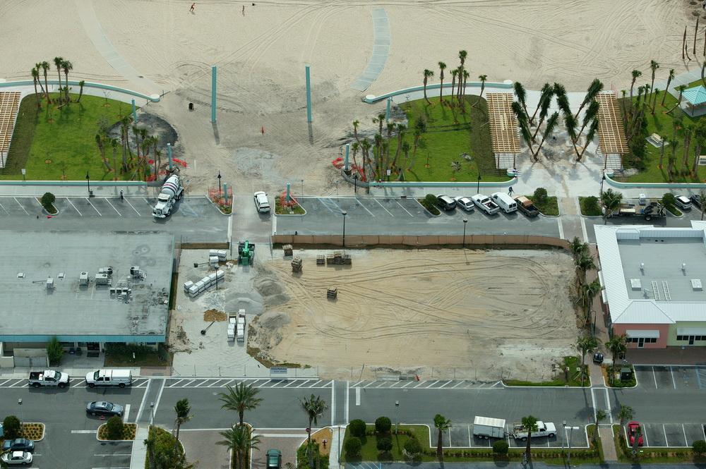 City of Riviera Beach Municipal Beach Park Ocean Mall Entry Construction.JPG