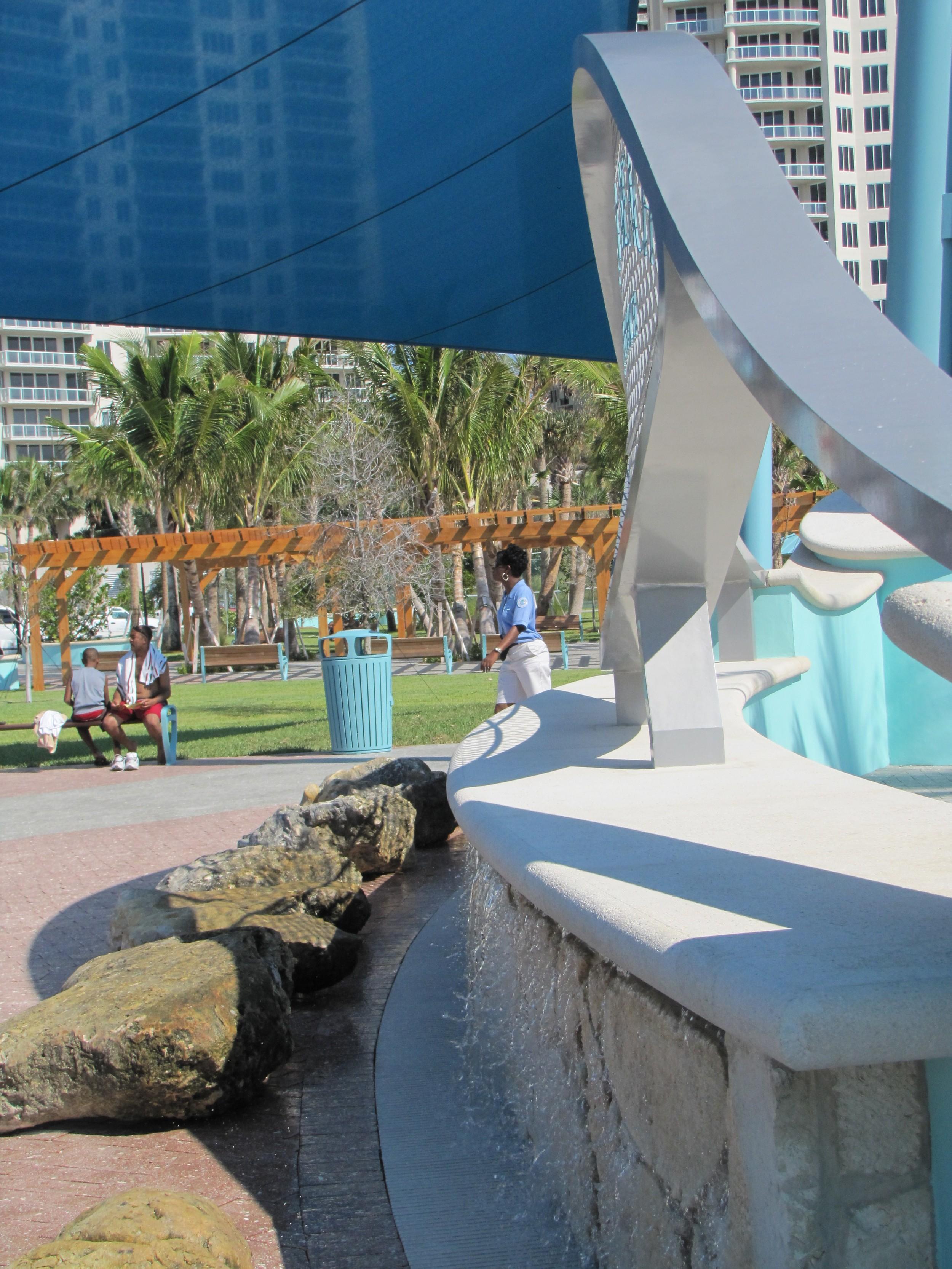 City of Riviera Beach Municipal Beach Park Ocean Mall Fountain Limestone Cap Rock Facade Limestone.jpg