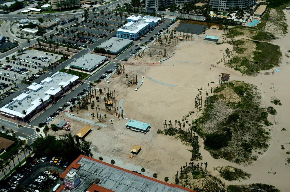City of Riviera Beach Municipal Beach Park Ocean Mall Restroom Structures during Construction.JPG