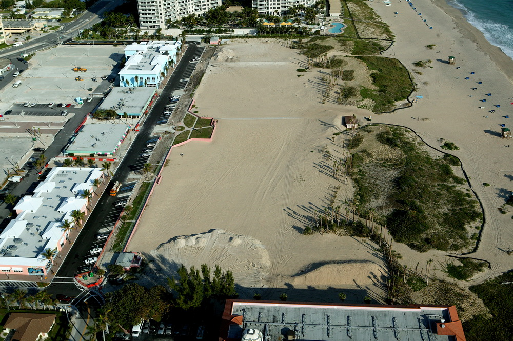 City of Riviera Beach Municipal Beach Park Ocean Mall Site Before Construction looking North.JPG