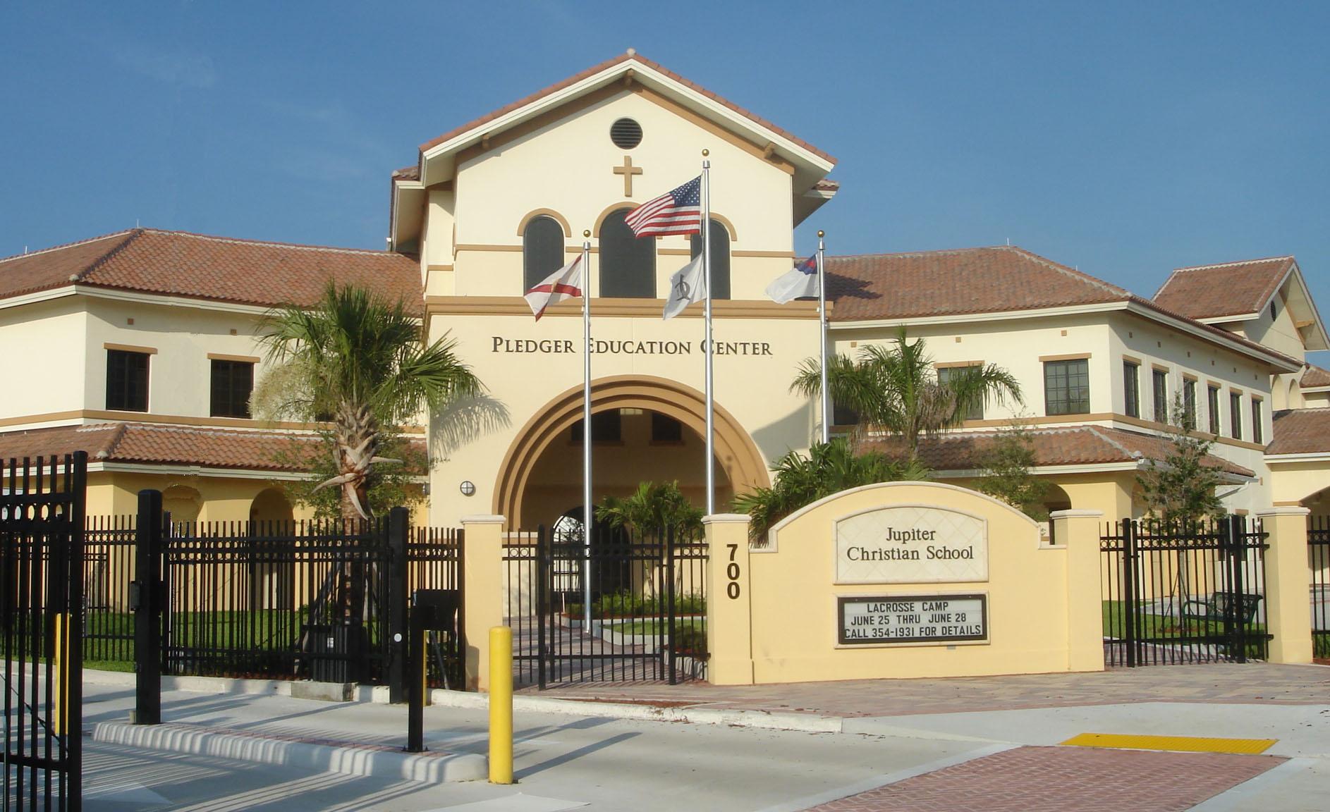Jupiter Christian School Jupiter Florida Entry Sign.JPG