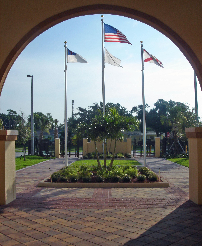 Jupiter Christian School Jupiter Florida Entry Courtyard.JPG