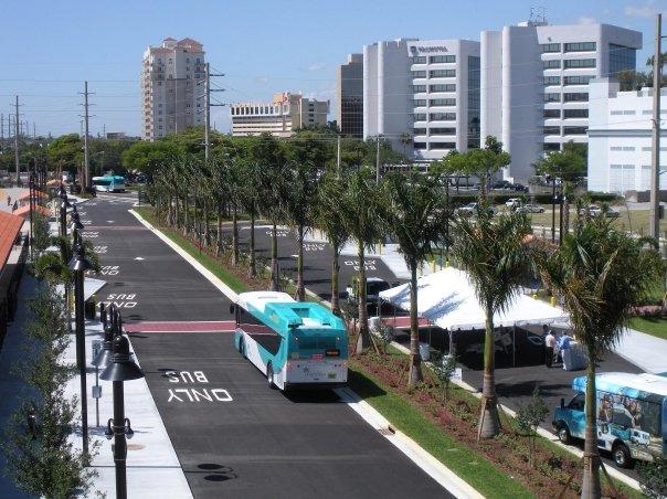 West Palm Beach Intermodal Transit Facility