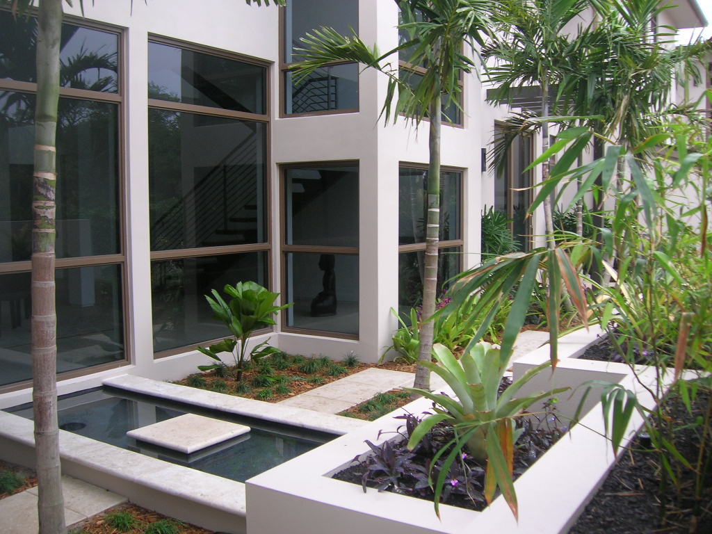 Palm Beach Gardens Intracoastal Residence Private Courtyard.JPG