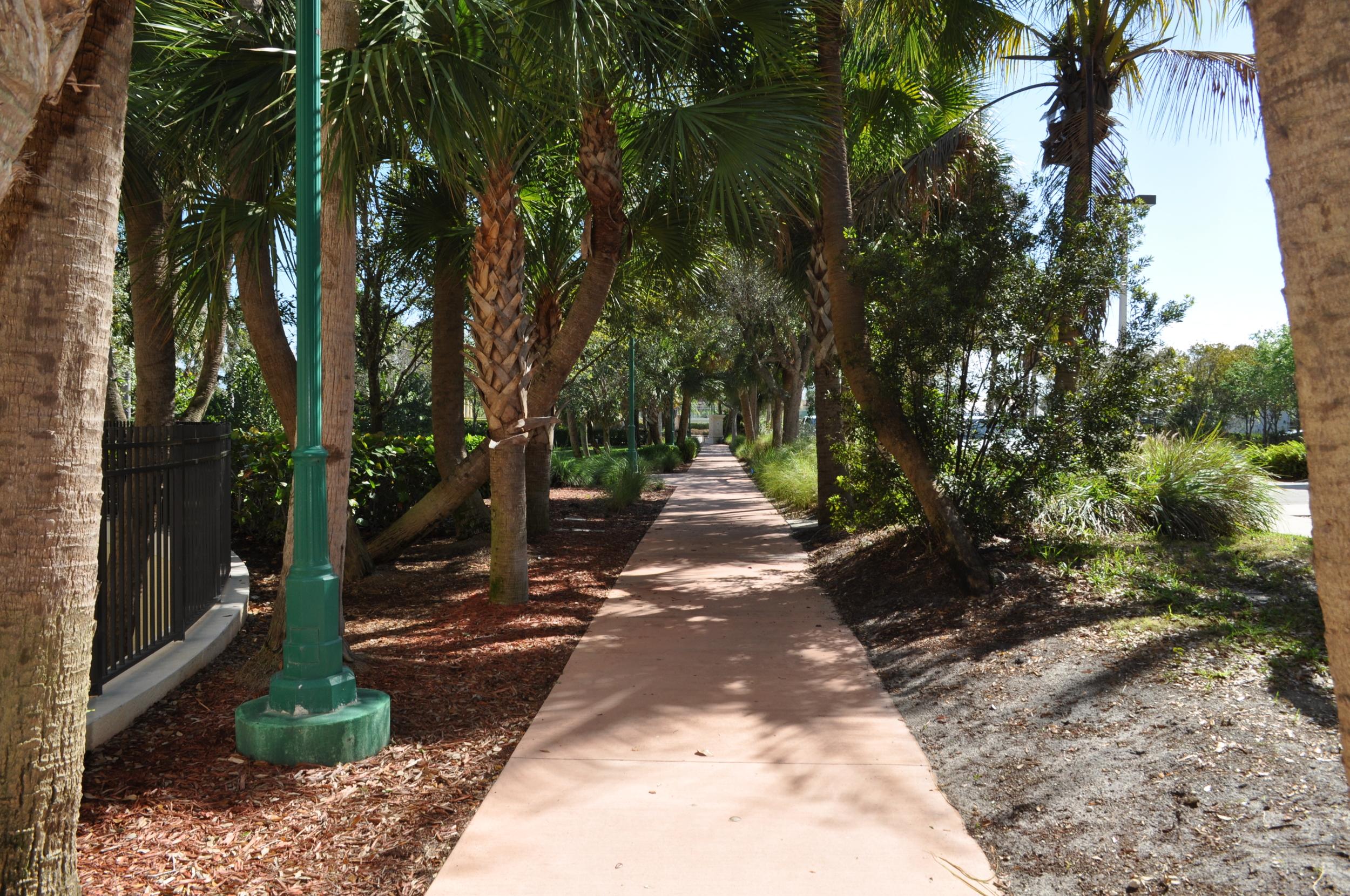 Jupiter Yacht Club Florida Riverwalk Secondary Path.JPG