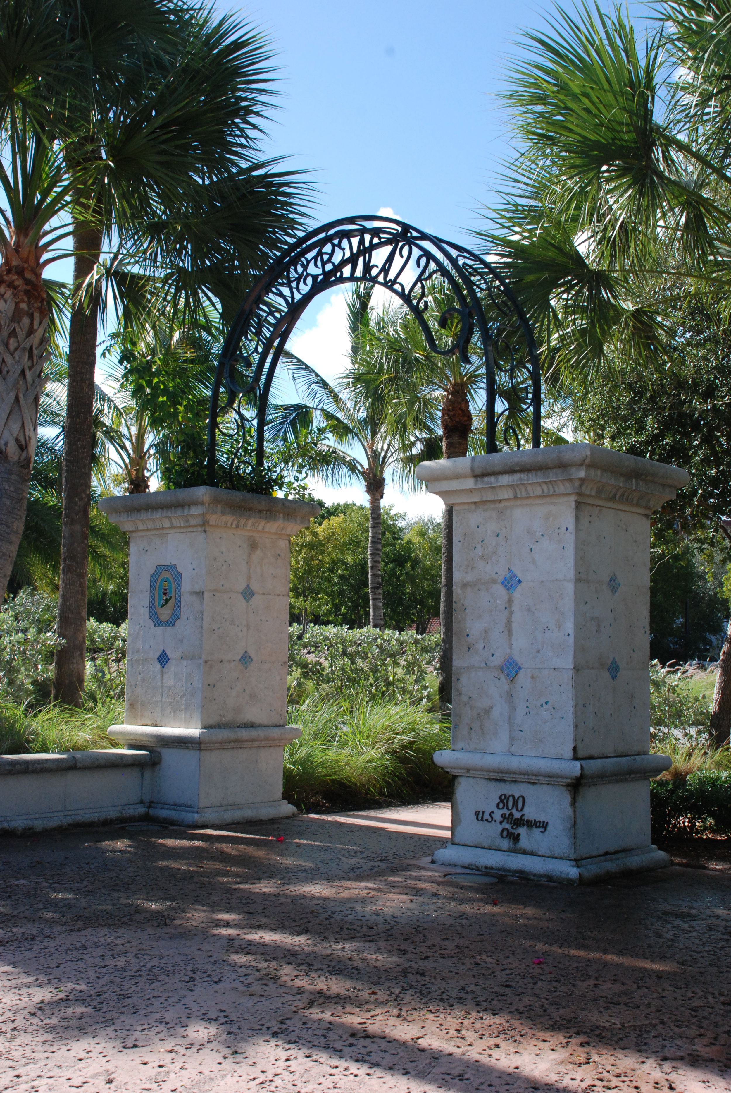 Jupiter Yacht Club Florida Riverwalk Gateway Entry.JPG