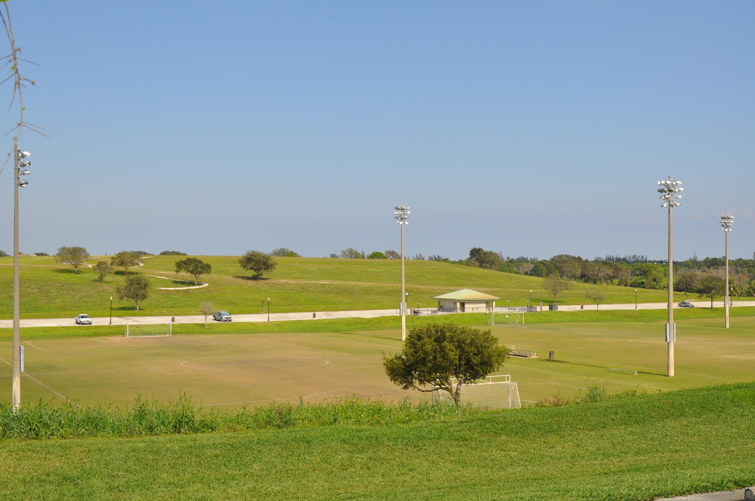 Dyer Landfill Reclamation Palm Beach County Florida Soccer Fields.JPG