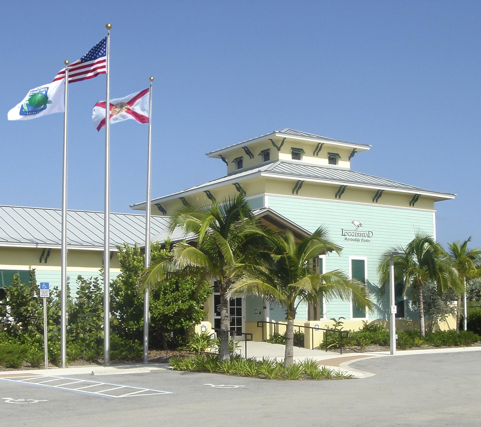 Loggerhead Marine Life Center Florida Green Building Juno Beach Florida Entry.jpg